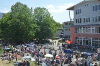 Flohmarkt im Hohberghaus, BLV; Quelle: Badischer Landesverein für Innere Mission / Marina Mandery