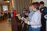 Singen gehört stets aufs Programm.; Quelle: Badischer Landesverein für Innere Mission / Marina Mandery