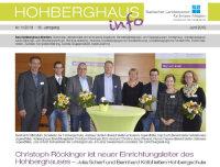 Die Hohberghaus-Info rund ums Hohberghaus.; Quelle: Badischer Landesverein für Innere Mission