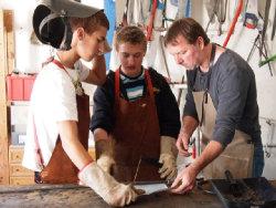 Ausbildung Hohberghaus; Quelle: Badischer Landesverein für Innere Mission
