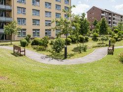 Gartenanlage im Haus Karlsruher Weg; Quelle: Badischer Landesverein für Innere Mission / Felix Grünschloß
