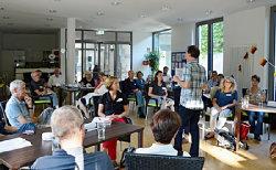 Quartiersgespräch Südweststadt; Quelle: Badischer Landesverein für Innere Mission