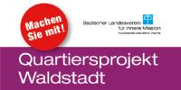 """Logo Quartiersprojekt Waldstadt """"machen Sie mit""""; Quelle: Badischer Landesverein für Innere Mission"""